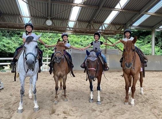 子ども乗馬学校