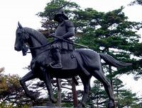 伊達政宗の騎馬像01.jpg